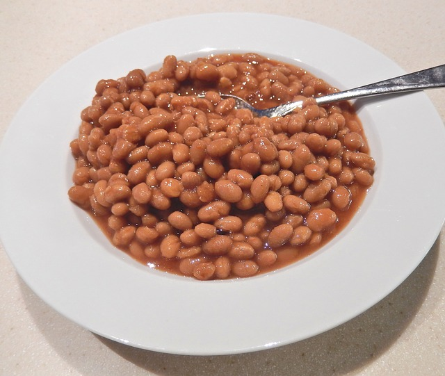 baked beans outdoor meal