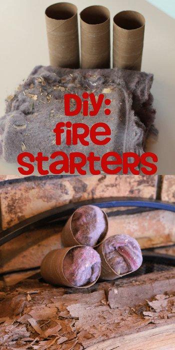 diy fire starter