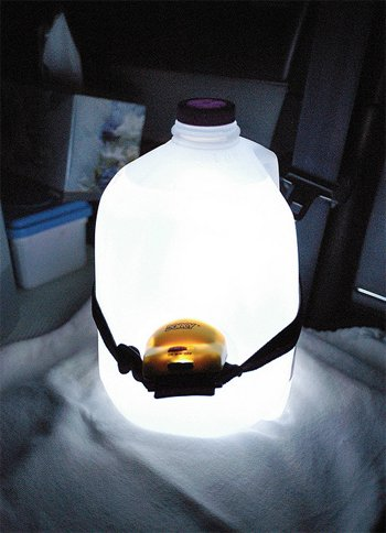 diy reading lamp
