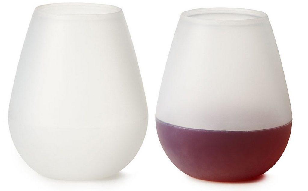 silicone wine glass
