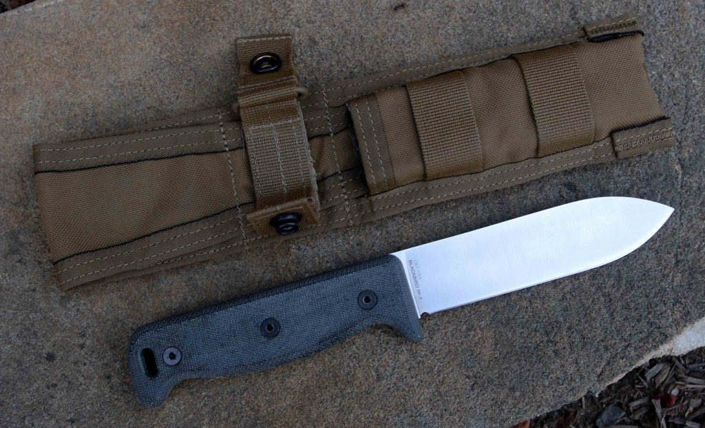 Ontario SK 5 Blackbird Knife with sheath
