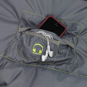 Kelty Tuck 22F Degree Mummy Sleeping Bag – 3 Season Ultralight Sleeping Bag with Thermal Pocket Hood, Zippered Opening in Footbox.  Sweet storage pocket!
