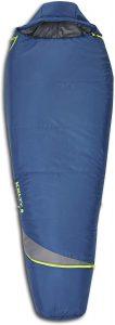 Kelty Tuck 22F Degree Mummy Sleeping Bag – 3 Season Ultralight Sleeping Bag with Thermal Pocket Hood, Zippered Opening in Footbox.