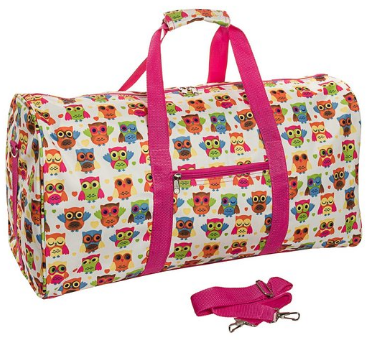 kids duffel bag - girls