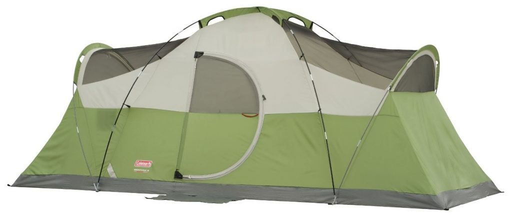 coleman 8 person tent no fly