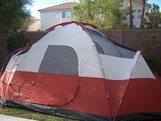 coleman-red-canyon-no-rain-fly & Coleman Red Canyon Tent Review u2013 A Spacious Tent But Is It Worth ...