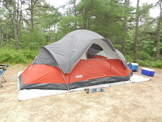red canyon 8 person tent with fly & Coleman Red Canyon Tent Review u2013 A Spacious Tent But Is It Worth ...