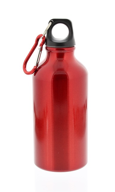 red-water-bottle