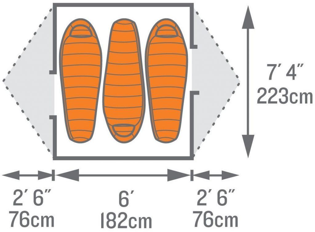 kelty-trail-ridge-3-tent-occupancy-measurements