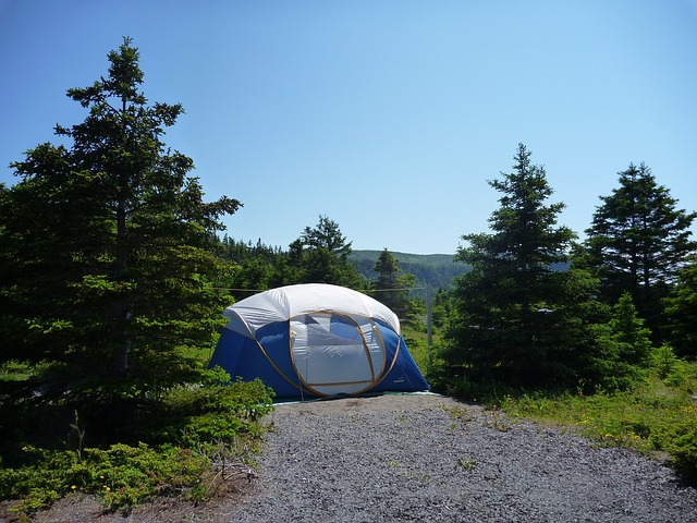 family-tent-in-wild