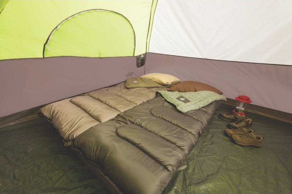 coleman-steel-creek-6-person-tent-sleeping-area