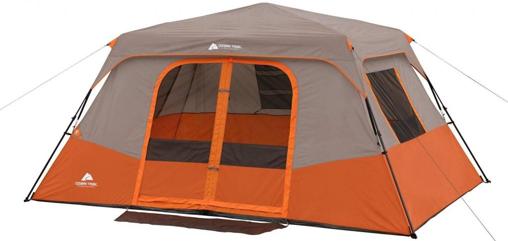 ozark-trail-8-person-tent  sc 1 st  C&ing Mastery & Ozark Trail 8 Person Tent Review u2013 A Waste Of Money In My Opinion ...