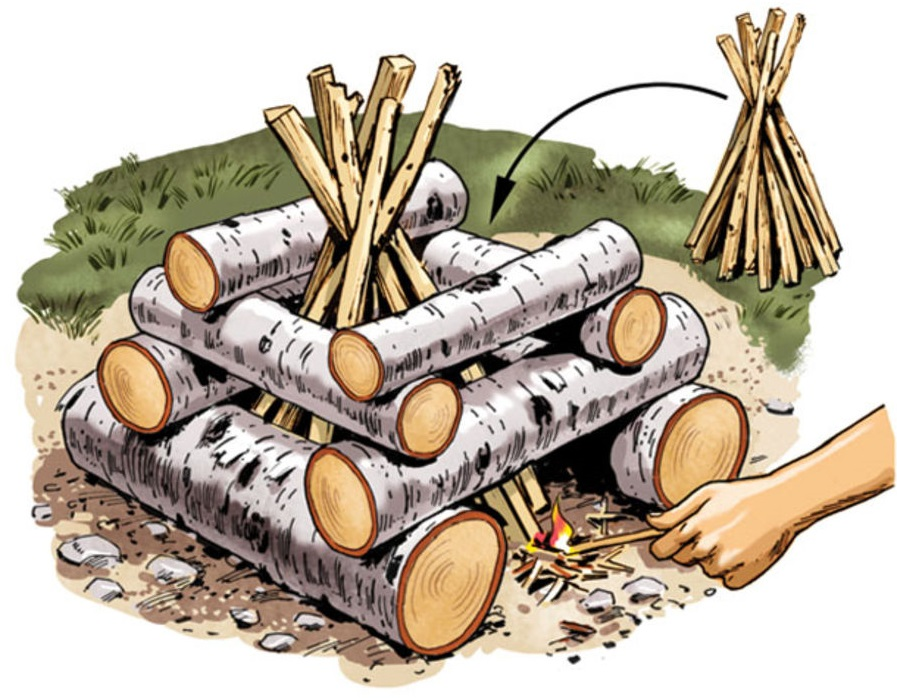 log-cabin-campfire