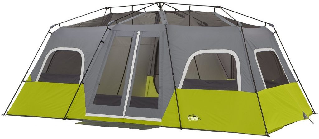 CORE 12 Person Instant Cabin Tent mesh roof