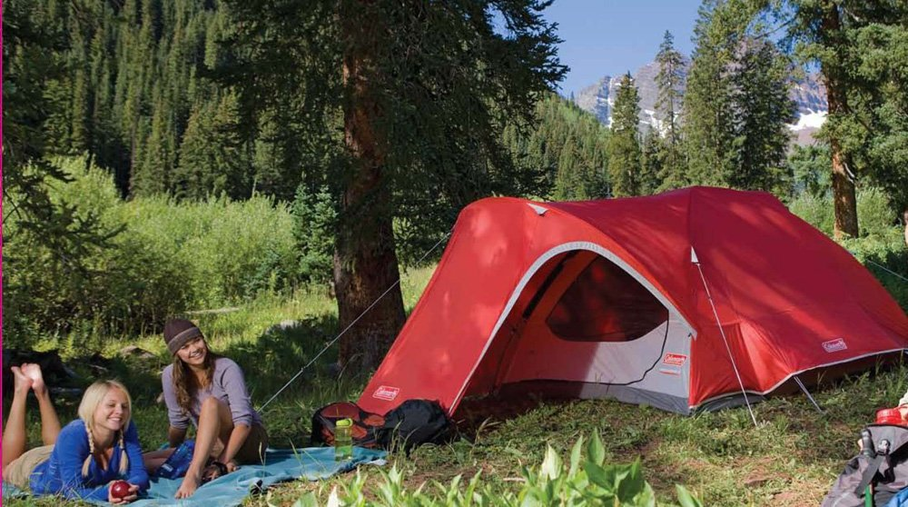 Coleman Hooligan 4-person Tent in the wild