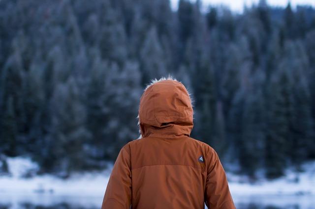 women adventure brown jacket