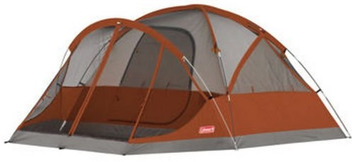 Coleman 4-Person Evanston Tent with Screened Porch Canopy