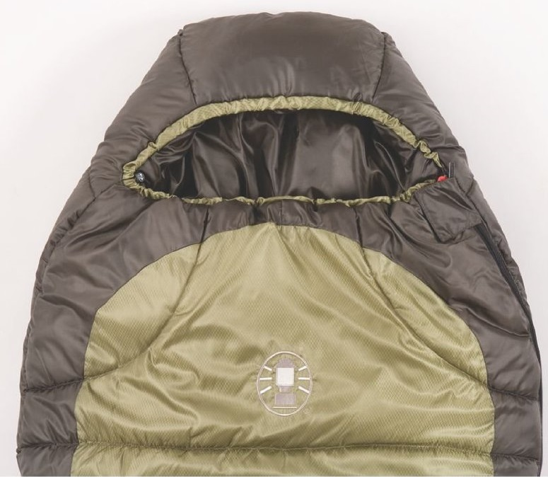 Coleman North Rim 0 Degree Sleeping Bag closed top