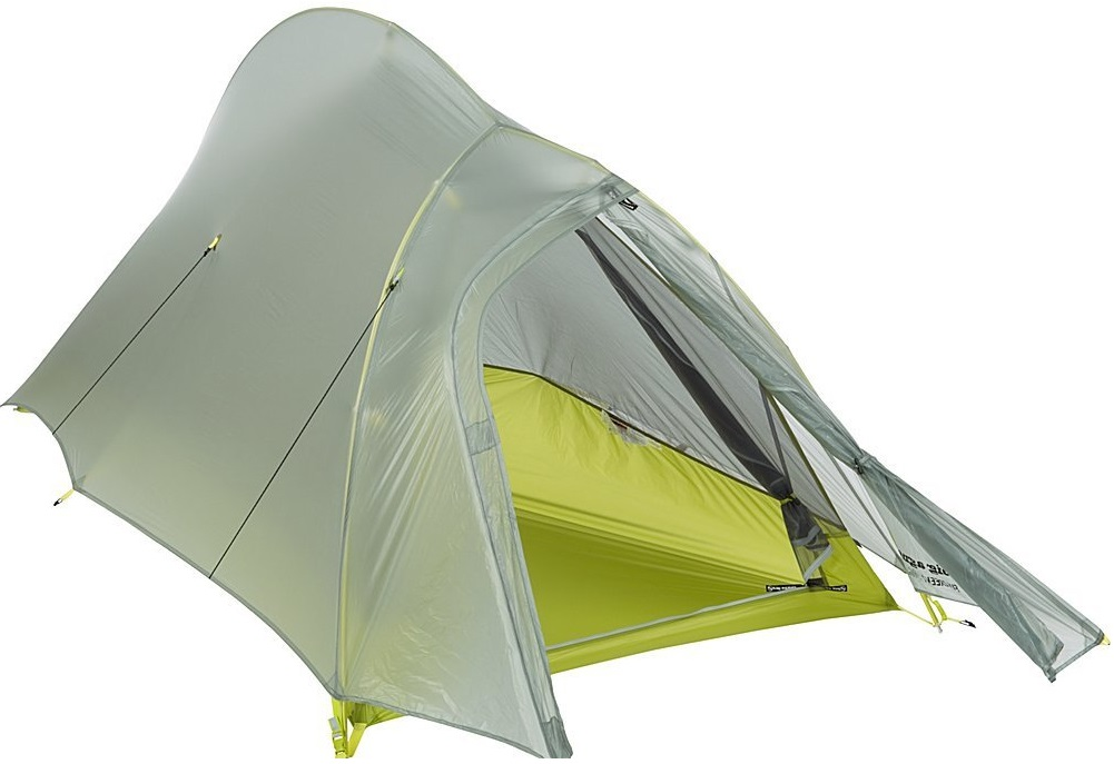 Big Agnes Fly Creek 1 Platinum Tent door open