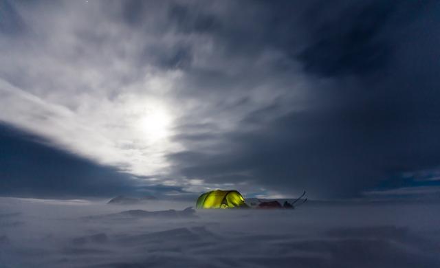 4 Season Tent In Snow