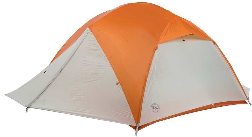 Big Agnes Copper Spur UL4 Tent With Rain Fly On