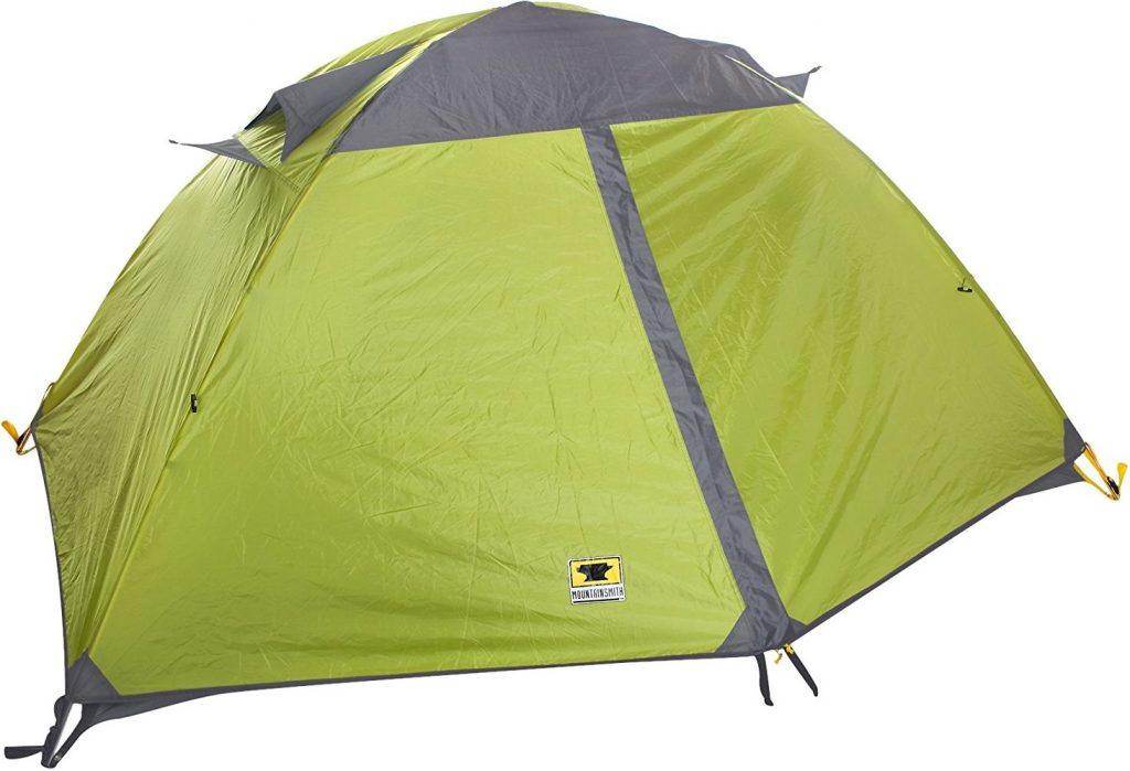 Mountainsmith Morrison 2 Person 3 Season Tent (Citron Green) With Rain Fly