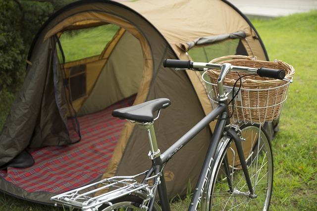 Brown Popup Tent