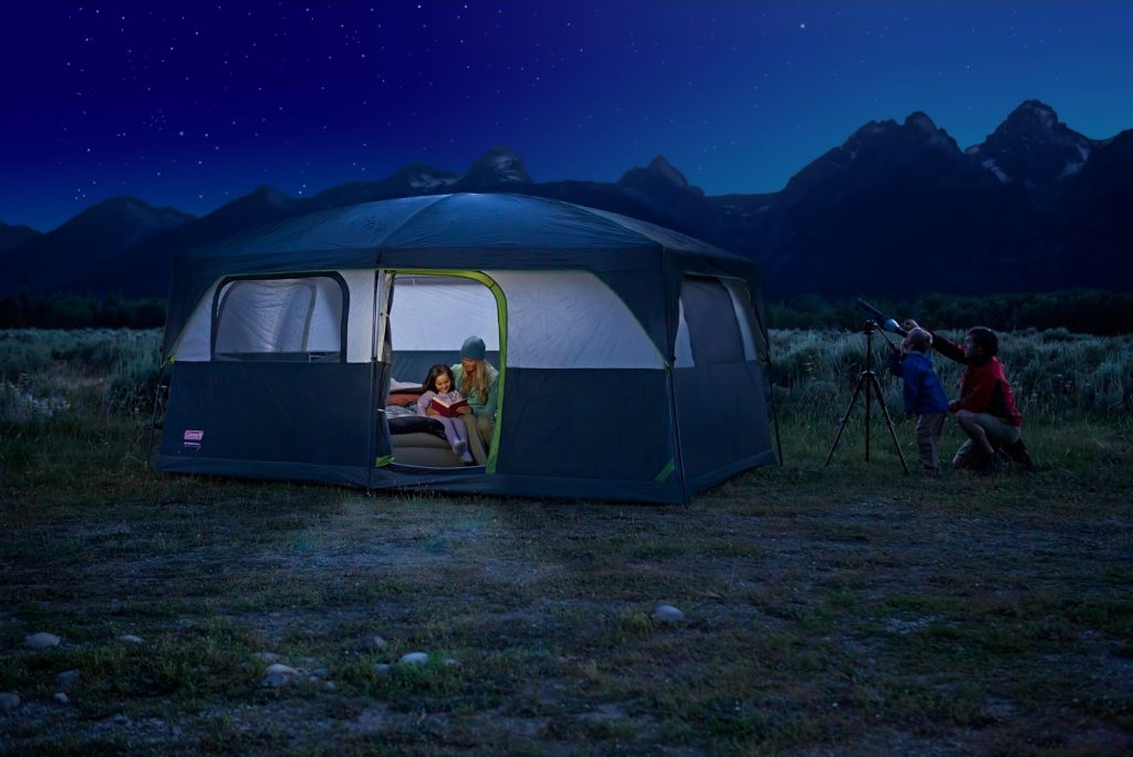Coleman Prairie Breeze 9-Person Cabin Tent (4) & Coleman Prairie Breeze 9-Person Cabin Tent Review   Camping Mastery