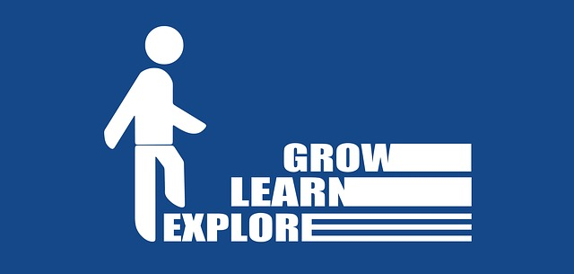 explore learn and grow sign