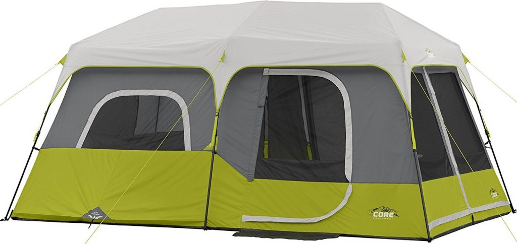 CORE 9 Person Instant Cabin Tent Review - What Is It ...
