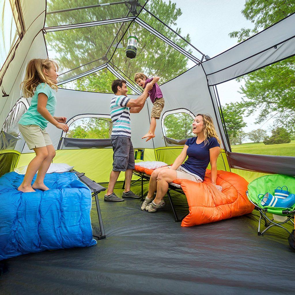 CORE 9 Person Instant Cabin Tent - 14u0027 x 9u0027 ... & CORE 9 Person Instant Cabin Tent Review u2013 What Is It u0026 What Does ...