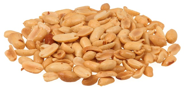 handful of peanuts