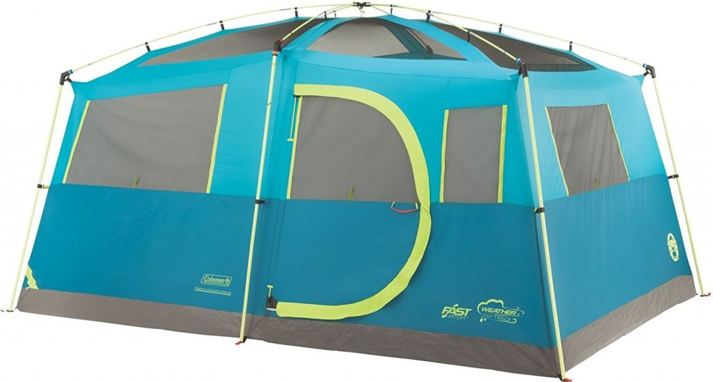Coleman 8 Person Tenaya Lake Fast Pitch Cabin Tent with Closet (2)
