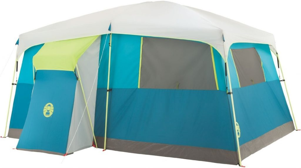 Coleman 8 Person Tenaya Lake Fast Pitch Cabin Tent with Closet (4)