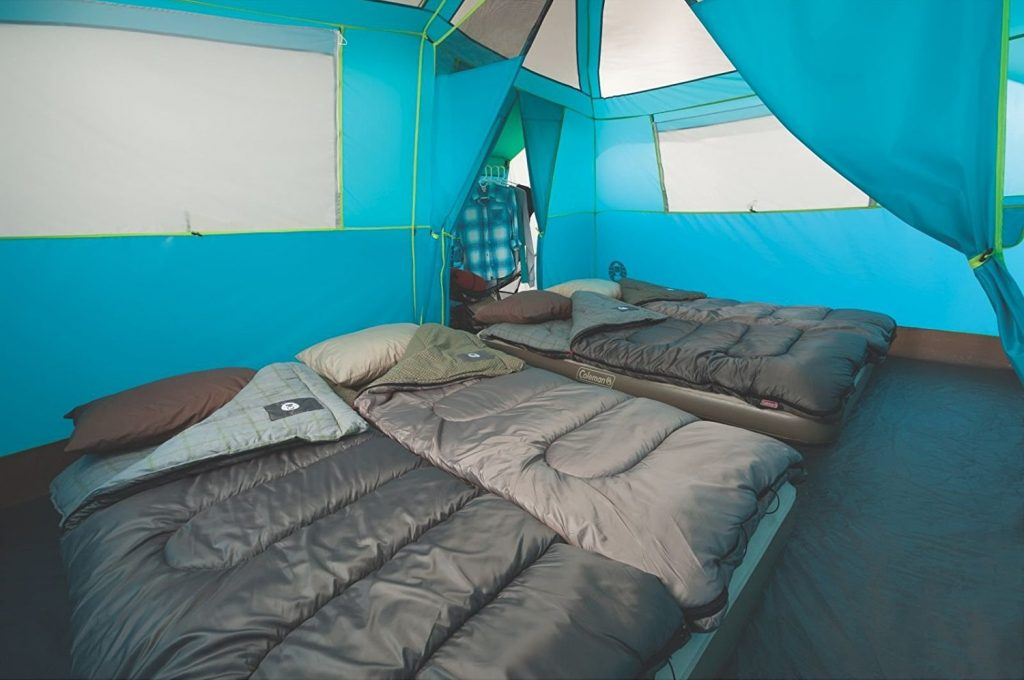 Coleman 8 Person Tenaya Lake Fast Pitch Cabin Tent with Closet (6) & Coleman 8 Person Tenaya Lake Fast Pitch Cabin Tent Review ...