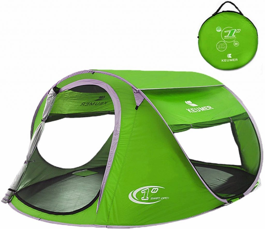 Beach Cabana Automatic Instant Setup Pop Up Tent  sc 1 st  C&ing Mastery & The 5 Best Pop Up Tents for Tall People | Camping Mastery