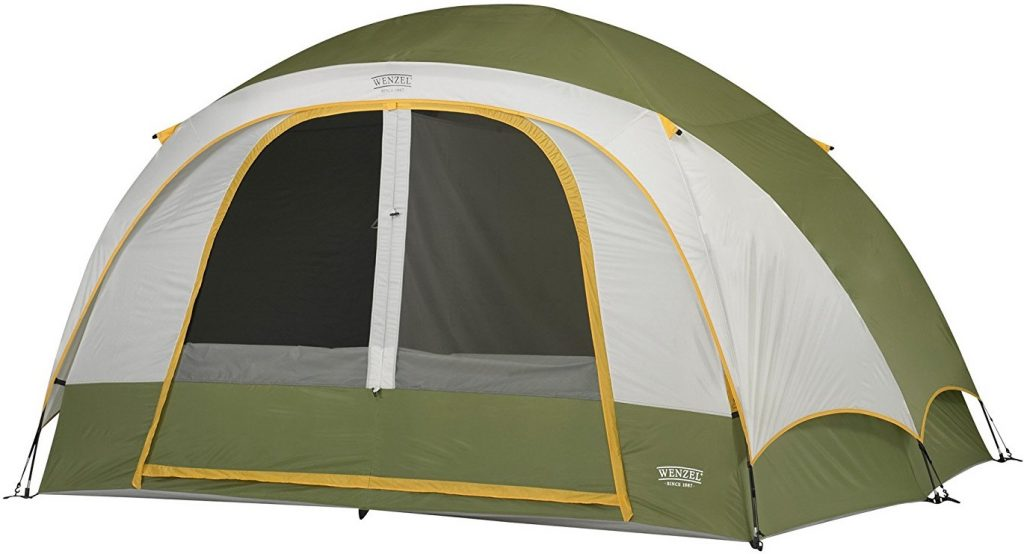 Wenzel Evergreen Tent - 6 Person  sc 1 st  C&ing Mastery & The Wenzel Evergreen Tent is Good for Summer Camping u0026 Thatu0027s it ...