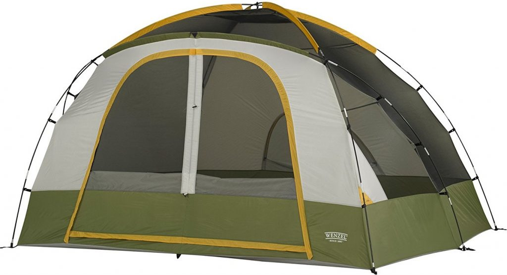 Wenzel Evergreen Tent - 6 Person (2)