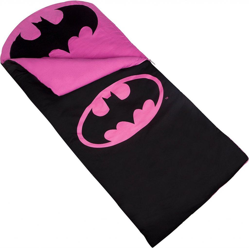 Batman Pink Emblem Original Sleeping Bag