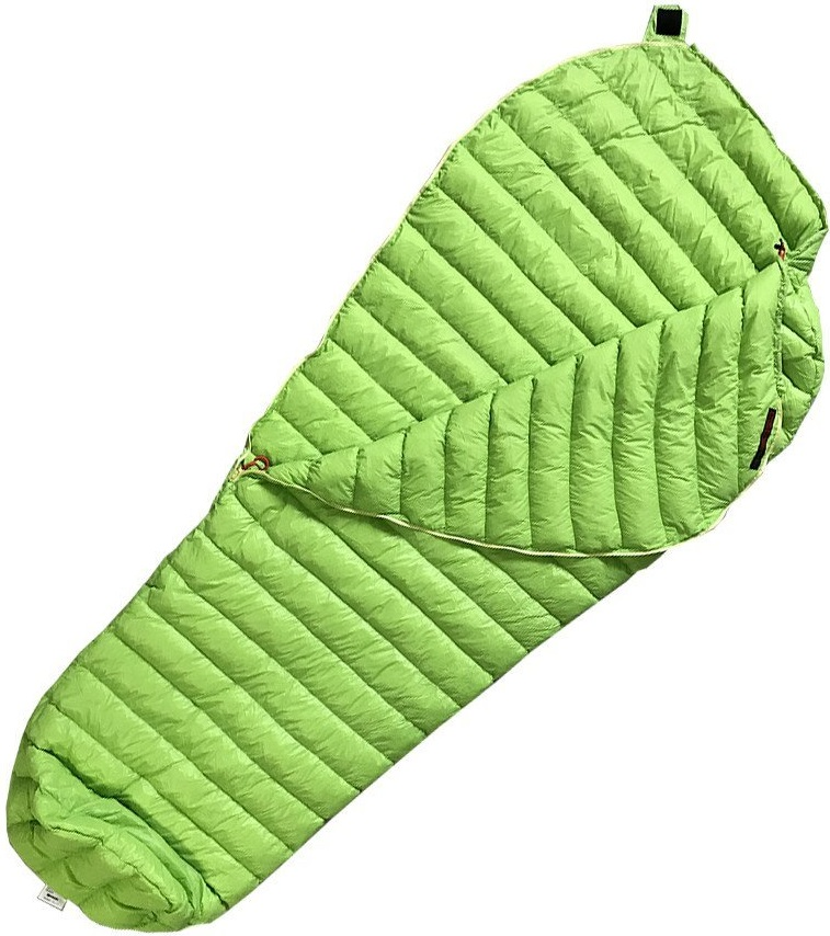Goose Down Sleeping Bag Ultralight Mummy Bags 800 Fill Power 11 Degree 52 F with Lightweight Compression Sack
