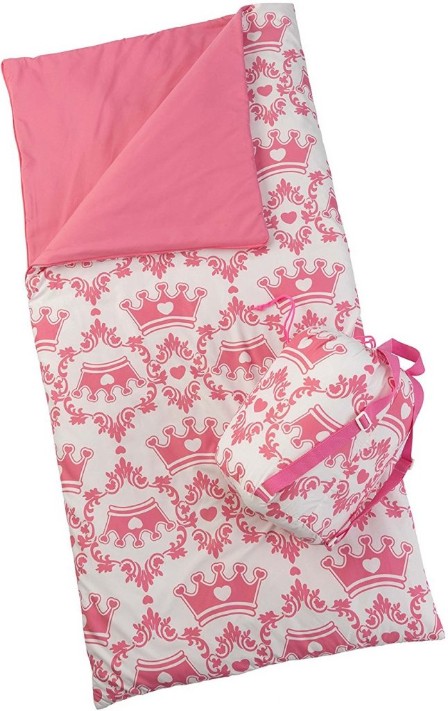 KidKraft Sleeping Bag, Princesses