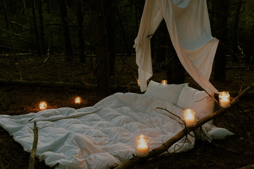 Outdoor Romantic Candles