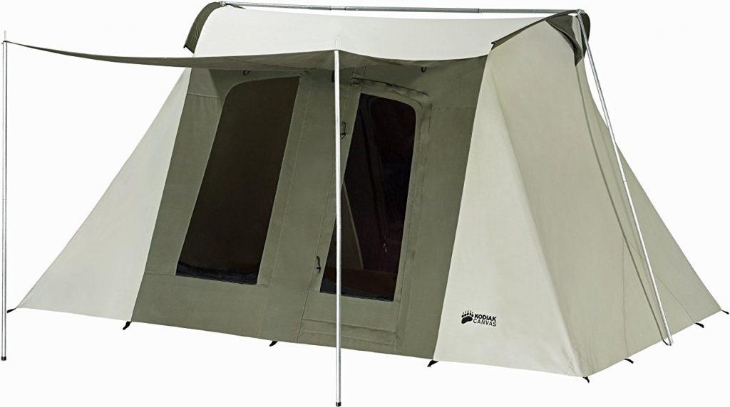 Kodiak Canvas Flex-Bow Deluxe 8-Person Tent  sc 1 st  C&ing Mastery & Does the Kodiak Canvas Flex-Bow Tent Deserve 5 Stars? | Camping ...