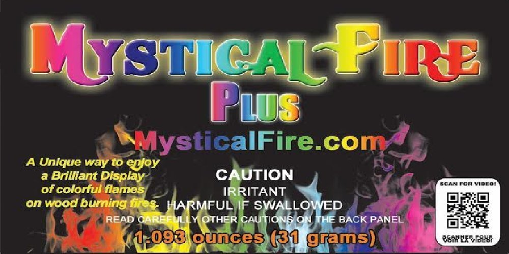Mystical Fire PLUS Campfire Fireplace Colorant Packets (24 pack, Mystical Fire Plus)