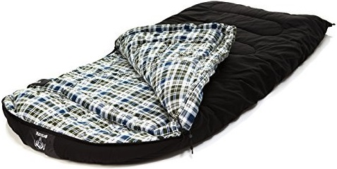 Grizzly Sleeping Bag - CanvasBlack (-50 Degrees F)