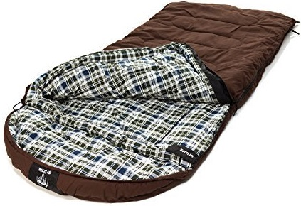 Grizzly Sleeping Bag - CanvasBrown (0 Degrees F)