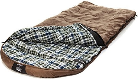 Grizzly Sleeping Bag - RipstopTan (+25 Degrees F)