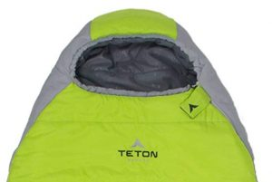 TETON Sports Tracker 5 Lightweight Mummy Sleeping Bag; Great for Hiking, Backpacking and Camping; Free Compression Sack