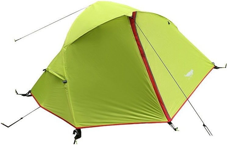 Luxe Tempo 3.3LB 1 Person Backpacking Tent Solo with Footprint Minimalist Pitch Option