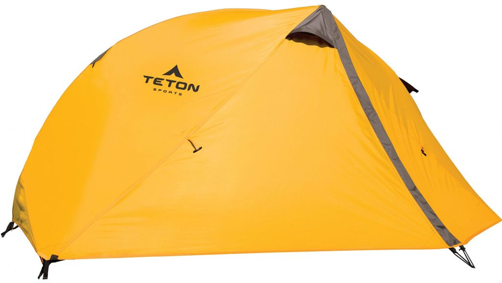 Teton Sports Mountain Ultra Tent; 1-4 Person Backpacking Dome Tent Includes Footprint and Rainfly; Quick and Easy Setup; Ready in an Instant When You Want to Get Outdoors; Clip-On Rainfly Included